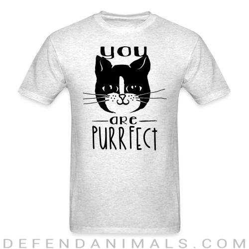 TYou are purrfect  - Cats Lovers T-shirt