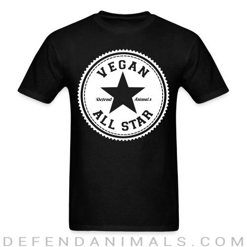 Vegan all star. Defend animals - Vegan T-shirt