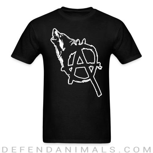 Standard t-shirt (unisex) Vegan anarchist - Animal Rights Activism