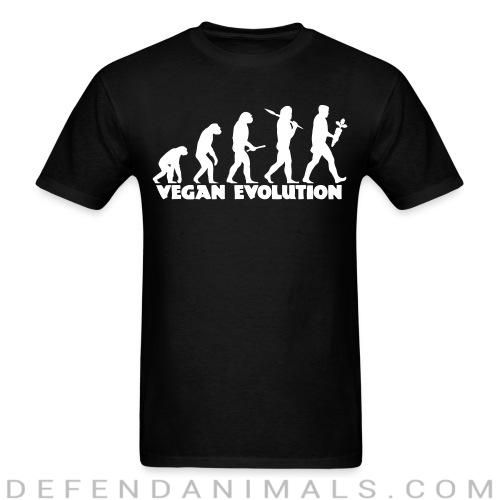 Vegan evolution - Vegan T-shirt