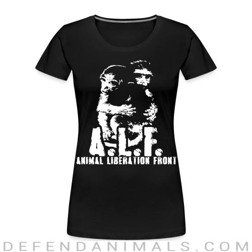 A.L.F Animal Liberation Front - Animal Rights Activism Women Organic T-shirt