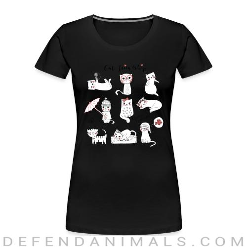 Always together - Cats Lovers Women Organic T-shirt