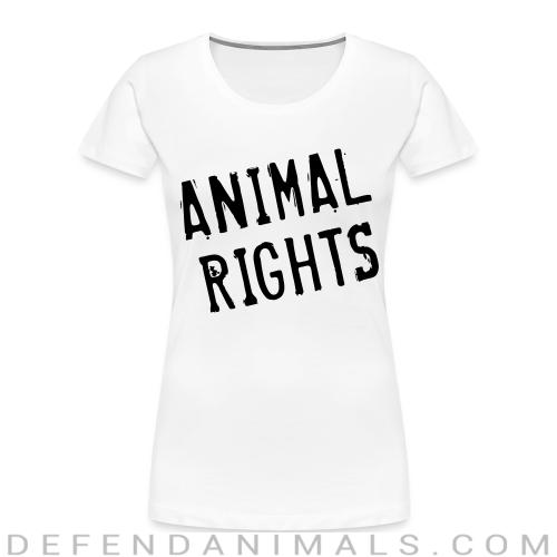 Animal rights - Animal Rights Activism Women Organic T-shirt