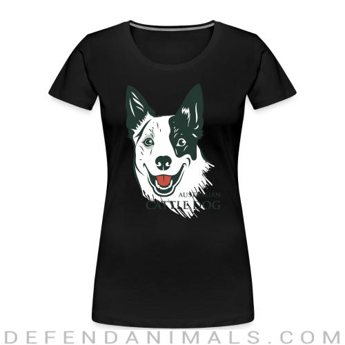 Australian Cattle Dog - Dog Breeds Women Organic T-shirt