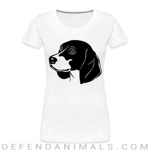 Beagle  - Dog Breeds Women Organic T-shirt