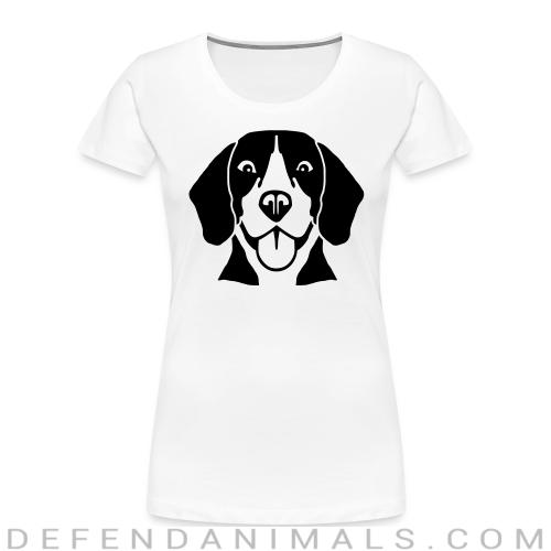 Beagle Dog - Dog Breeds Women Organic T-shirt