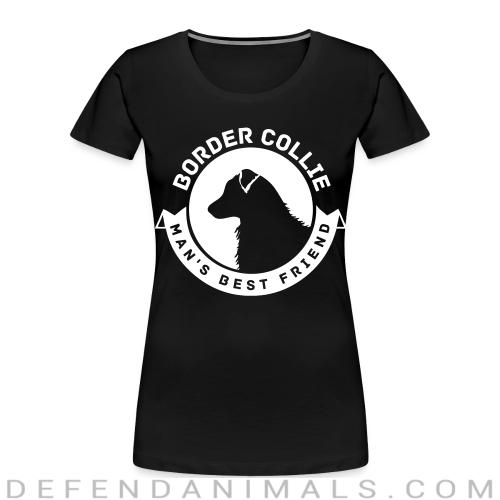 Border Collie man's best friend - Dog Breeds Women Organic T-shirt