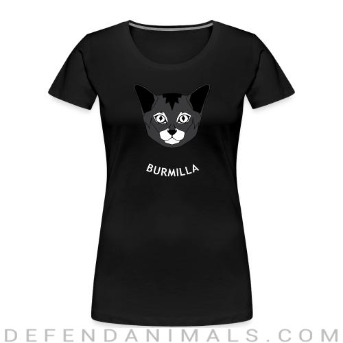 Burmilla Cat - Cat Breeds Women Organic T-shirt