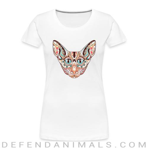Cat Face  - Cats Lovers Women Organic T-shirt