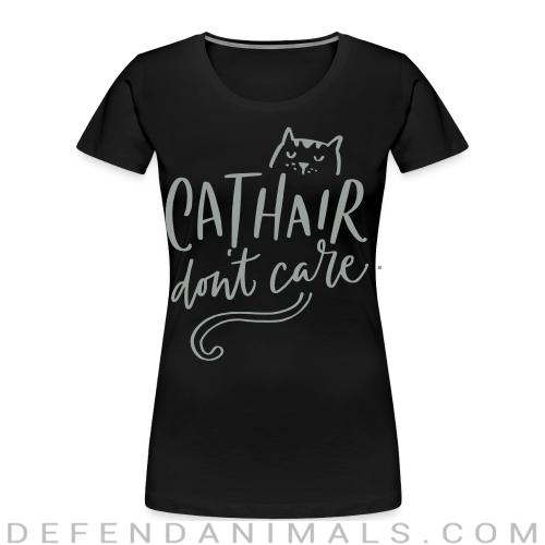 Cathair don't care  - Cats Lovers Women Organic T-shirt