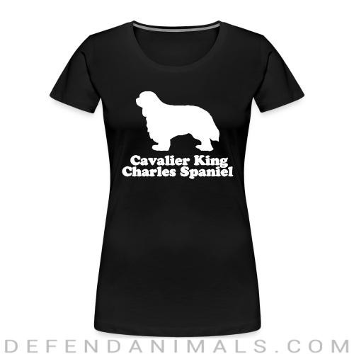 cavalier king charles spaniel - Dog Breeds Women Organic T-shirt