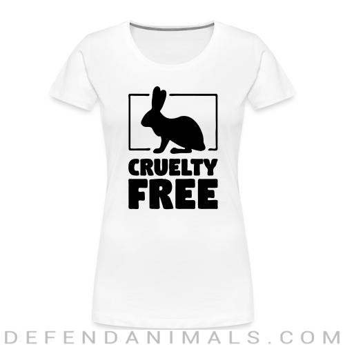 Cruelty free - Animal Rights Activism Women Organic T-shirt