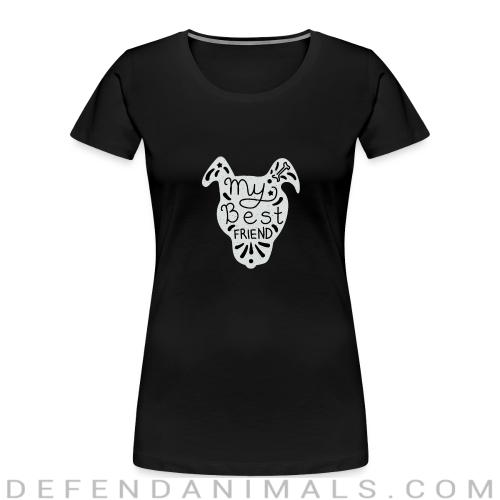 Dogs Lovers Women Organic T-shirt - Dogs Lovers Women Organic T-shirt