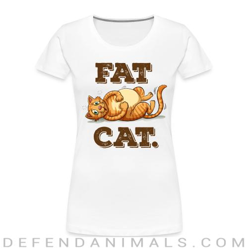 Fat Cat  - Cats Lovers Women Organic T-shirt