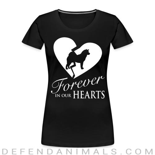 Forever in your hearts - Dog Breeds Women Organic T-shirt