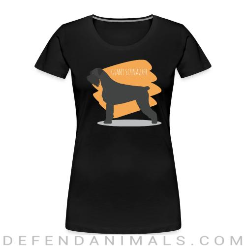 Giant Schnauzer - Dog Breeds Women Organic T-shirt