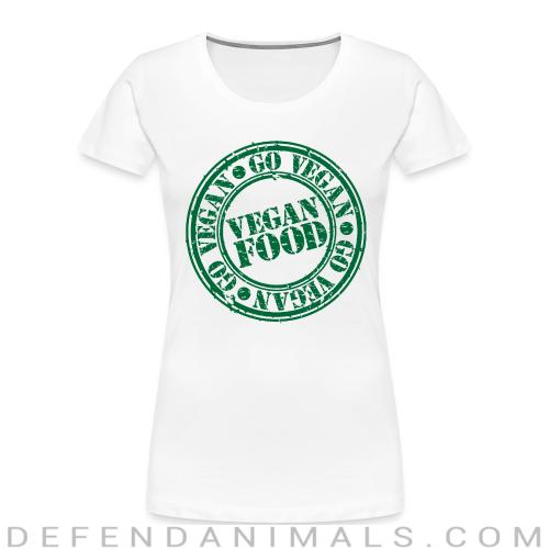 go Vegan  Vegan  food  - Vegan Women Organic T-shirt