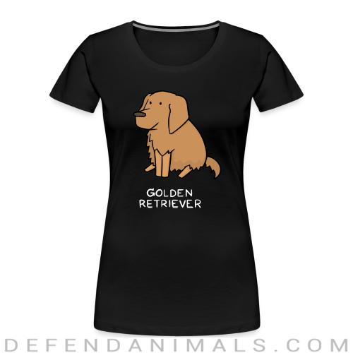 Golden Retriever - Dog Breeds Women Organic T-shirt