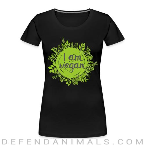 I am vegan  - Vegan Women Organic T-shirt