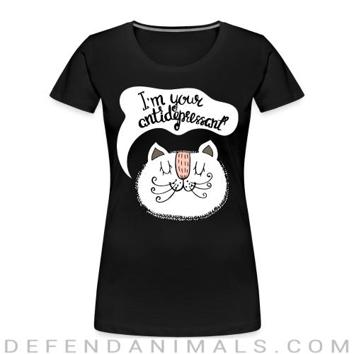 I'm your antidepressant - Cats Lovers Women Organic T-shirt