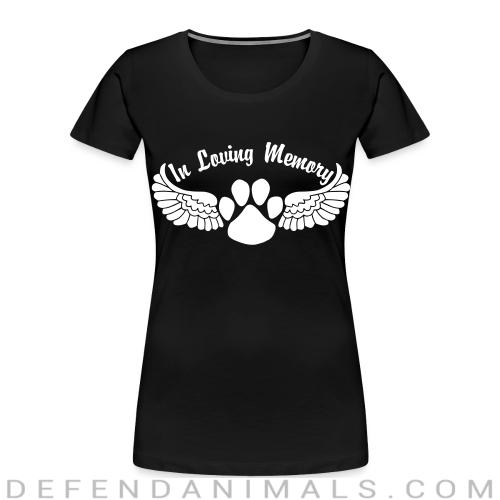 In Loving Memory - Dogs Lovers Women Organic T-shirt