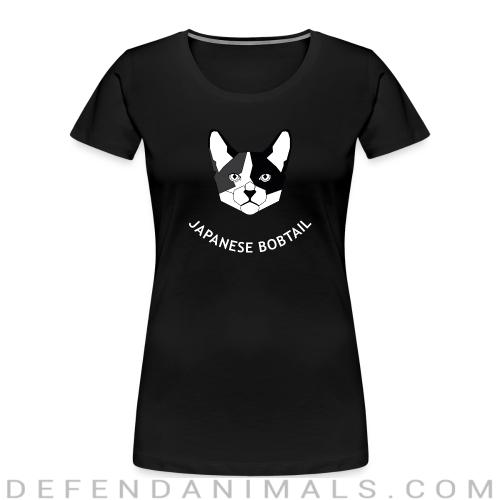Japanese Bobtail Cat - Cat Breeds Women Organic T-shirt