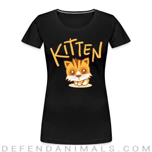 Kitten  - Cats Lovers Women Organic T-shirt