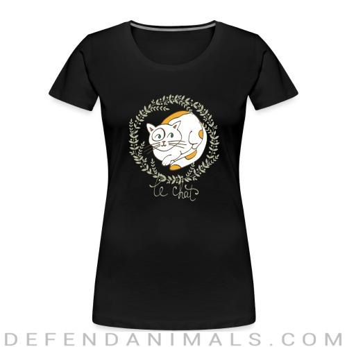 Le chat  - Cats Lovers Women Organic T-shirt