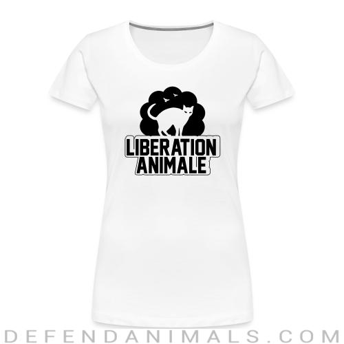 Libération animale - Animal Rights Activism Women Organic T-shirt