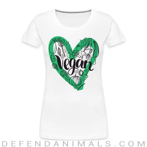 Love Vegan  - Vegan Women Organic T-shirt