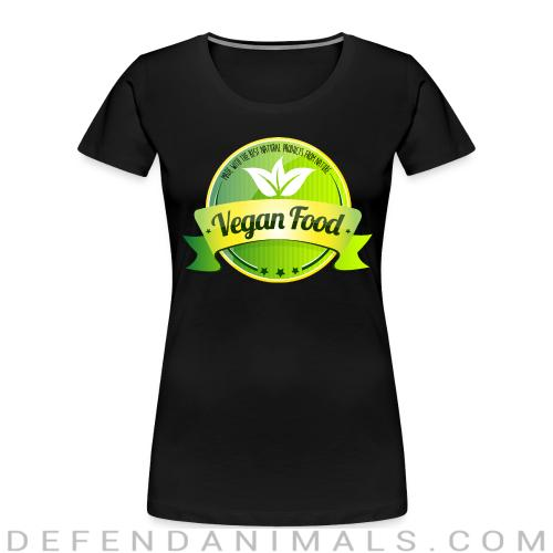 Made with the best natural product from nature Vegan food  - Vegan Women Organic T-shirt