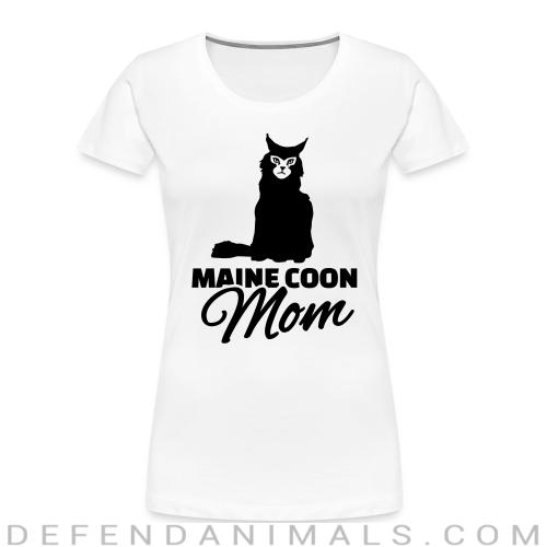 Main coon mom - Cat Breeds Women Organic T-shirt
