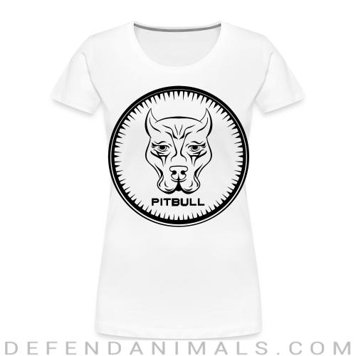 Pitbull - Dog Breeds Women Organic T-shirt