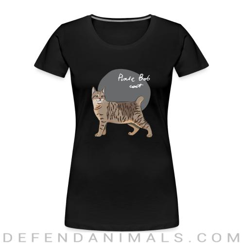 Pixie-Bob Cat - Cat Breeds Women Organic T-shirt