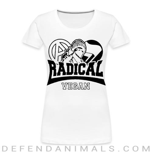 Radical vegan - Vegan Women Organic T-shirt