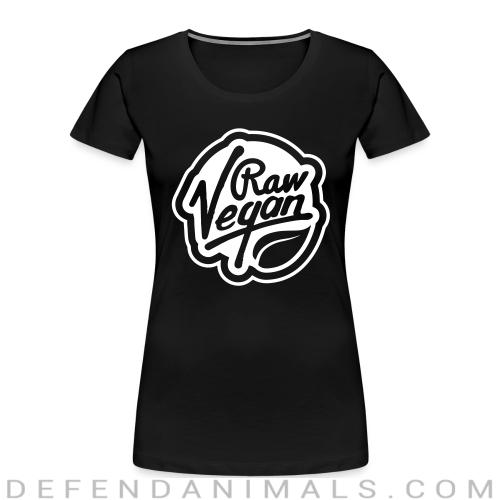 raw Vegan   - Vegan Women Organic T-shirt