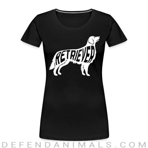 Retriever - Dog Breeds Women Organic T-shirt