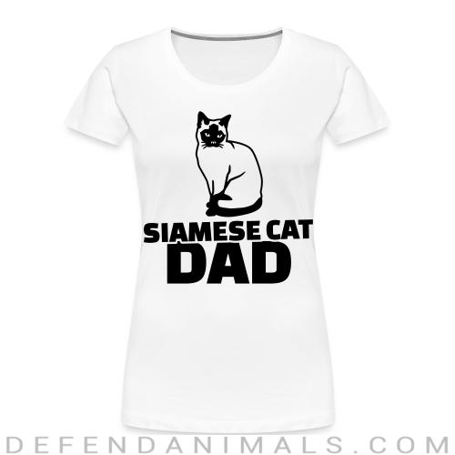 Siamese cat dad - Cat Breeds Women Organic T-shirt
