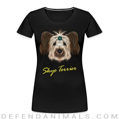 Skye Terrier - Dog Breeds Women Organic T-shirt