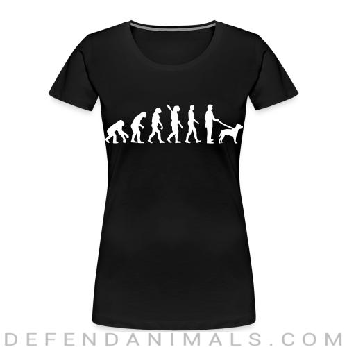 Staffordshire Bull Terrier evolution - Dog Breeds Women Organic T-shirt