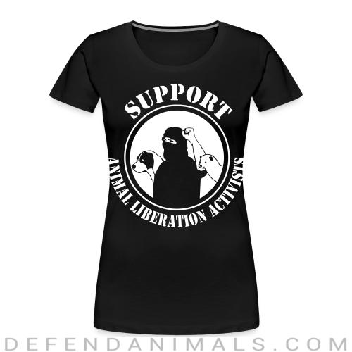 Support animal liberation activists - Animal Rights Activism Women Organic T-shirt
