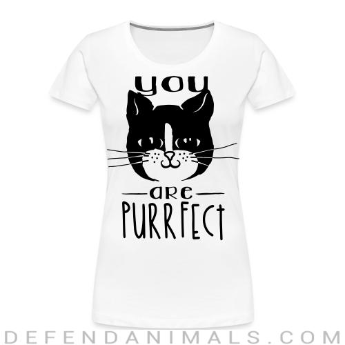 TYou are purrfect  - Cats Lovers Women Organic T-shirt