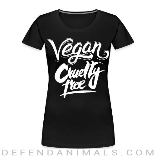 Vegan! Cruelty free - Vegan Women Organic T-shirt