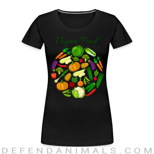 Vegan food  - Vegan Women Organic T-shirt