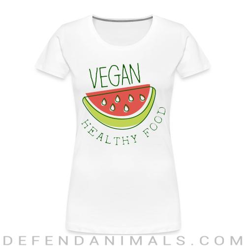 Vegan healthy food  - Vegan Women Organic T-shirt