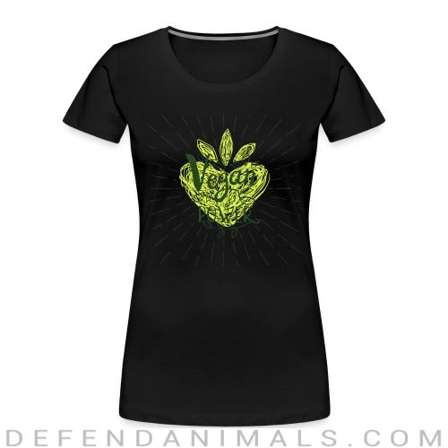 Vegan power - Vegan Women Organic T-shirt