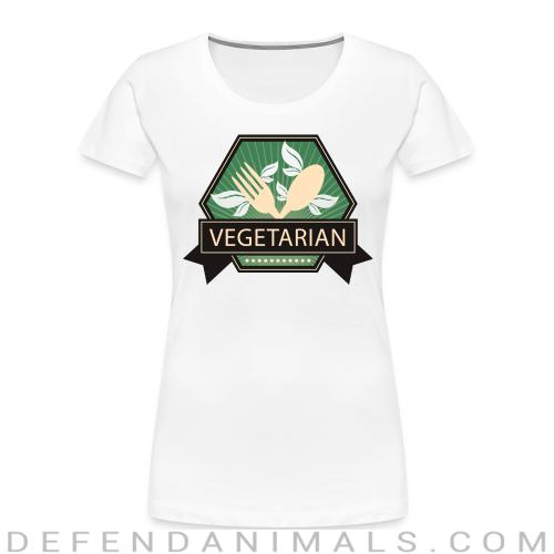Vegetarian  - Vegan Women Organic T-shirt