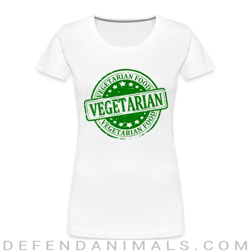 Vegetarian food  - Vegan Women Organic T-shirt