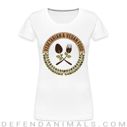 Vegetarian & Vegan food  - Vegan Women Organic T-shirt
