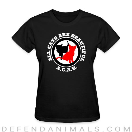 A.C.A.B. All Cats Are Beautiful - Cats Lovers Women T-shirt